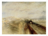 Rain, Steam, and Speed, the Great Western Railway, c.1844 Giclee Print by William Turner