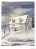 Grandma's House Giclee Print by Linda Braucht