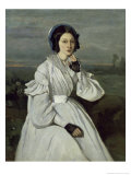 Marie Louise Sennegon, 19th century Giclee Print by Jean-Baptiste-Camille Corot