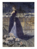 Portrait de Madame Crossportrait of Mrs. Cross Giclee Print by Henri Edmond Cross