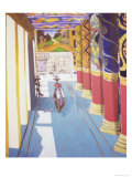 Buddhist Temple with Bikes, c.2006 Giclee Print by Erik Slutsky