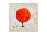 Seasons: Fall Premium Giclee Print by John Newcomb
