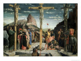 Calvary, c.1457-60 Premium Giclee Print by Andrea Mantegna