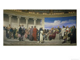 Hemicycle de L&#39;Ecole Des Beaux Arts, c.1841 Giclee Print by Paul Delaroche