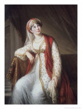 Portrait of the Opera Singer Grassini, c.1805 Giclee Print by Elisabeth Louise Vigee-LeBrun