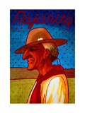 the Argentine Gaucho Pajarito Giclee Print by John Newcomb