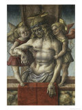 Lamentation over the Dead Christ with Two Angels, 15th century Giclee Print by Carlo Crivelli