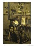 L'Atelier de Corot Giclee Print by Jean-Baptiste-Camille Corot