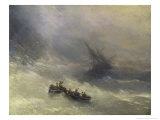 The Rainbow Giclee Print by Ivan Konstantinovich Aivazovsky