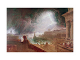 Seventh Plague of Egypt Giclee Print by John Martin