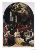 Nativity of the Virgin Giclee Print by Donato Mascagni