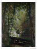 The Trout Pool Giclee Print by Thomas Worthington Whittredge