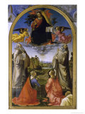 Christ in Glory Among Saints Giclee Print by Domenico Ghirlandaio