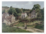 Country Road Giclee Print by Camille Pissarro