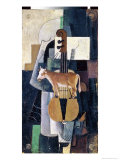 The Cow and the Violin Giclee Print by Kasimir Malevich