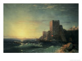 The Towers at Bosporus Giclee Print by Ivan Konstantinovich Aivazovsky