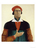 Self Portrait Giclee Print by Kasimir Malevich