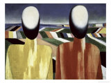 Two Farmers Giclee Print by Kasimir Malevich