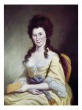 Mrs Fredrick Greene Giclee Print by Charles Willson Peale