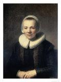 Portrait of B. Martens Giclee Print by  Rembrandt van Rijn