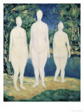 Three Nude Figures, c.1908 Giclee Print by Kasimir Malevich