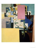 Lady by the Poster, c.1914 Giclee Print by Kasimir Malevich