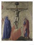 Korsfæstelse Giclée-tryk af Masaccio