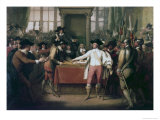 Cromwell Dissolving the Long Parliament Premium Giclee Print by Benjamin West
