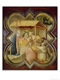 Adoration of the Shepherds Giclee Print by Taddeo Gaddi