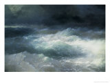 Between The Waves Premium Giclee Print by Ivan Konstantinovich Aivazovsky