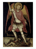 The Archangel Michael Giclee Print by Guariento Di Arpo
