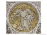 Saint Matthew, Evangelist Angel Giclee Print by Giusto De' Menabuoi