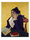 L'Arlesienne: Madame Joseph Michel Ginoux Giclee Print by Vincent van Gogh