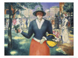 Flower Girl Giclee Print by Kasimir Malevich