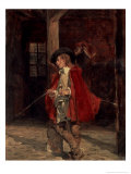 Dueller in a Red Coat, c.1851 Giclee Print by Jean-Louis Ernest Meissonier