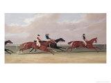Doncaster St. Leger Premium Giclee Print by John Frederick Herring II