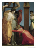 Descent from the Cross Giclée-tryk af Rosso Fiorentino (Battista di Jacopo)