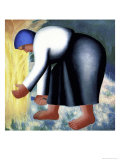 The Farmer's Wife, no.2 Giclee Print by Kasimir Malevich