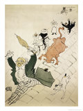 La Vache Enragee Giclee Print by Henri de Toulouse-Lautrec