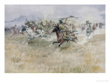 Indian Ambush Giclee Print by Charles Marion Russell