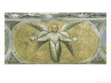 The Angel with Seven Cruets For the Scourges Giclee Print by Giusto De' Menabuoi