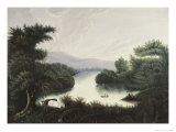 Summer Lake Giclee Print by Thomas Chambers