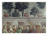 St. Peter Resurrects the Child of Theophilus Giclee Print by  Masaccio