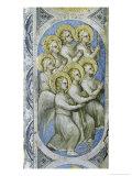 Seven Angels Carry Seven Cruets Giclee Print by Giusto De' Menabuoi