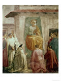 St. Peter in the Teacher's Chair Giclée-tryk af Masaccio