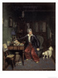 The Breakfast of the Aristocrat Premium Giclee Print by Pavel Andreevic Fedotov