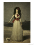 13th Duchess of Alba Giclee Print by Francisco de Goya