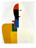 Female Torso, no.2 Giclée-tryk af Kasimir Malevich