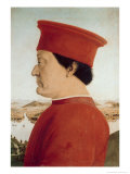 Duke of Urbino Giclee Print by  Piero della Francesca