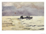 Rowing Home Giclee Print by Winslow Homer